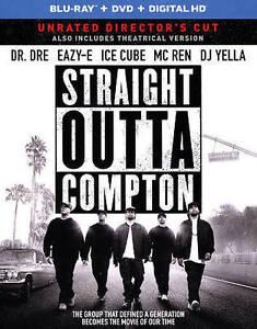 DVD: Straight Outta Compton (Blu-ray DVD DIGITAL HD with Ultraviolet), F. Ga - Alton, Illinois, United States - DVD: Straight Outta Compton (Blu-ray DVD DIGITAL HD with Ultraviolet), F. Ga - Alton, Illinois, United States