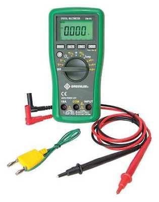 Greenlee Dm-65 Digital Multimeter60 Megohm600 Counts