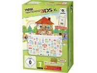 NINTENDO 3DS XL (NEW VERSION) *ANIMAL CROSSING* HAPPY HOME DESIGNER CONSOLE
