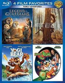 8-FAMILY-ADVENTURES-4-FILM-FAVORITES-Brand-New-Blu-Ray-Set-FREE-SHIPPING