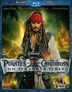 Pirates 4 blu-ray/DVD