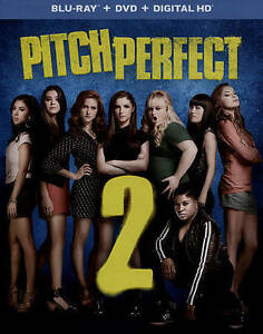 Pitch Perfect 2 (Blu-ray/DVD, 2015, 2-Disc) Anna Kendrick Rebel Wilson