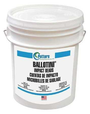 Ballotini Ae (100-170) Glass Beads Blast Media, Fine