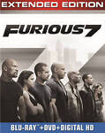 Furious 7 (Blu-ray/DVD, 2015, Includes Digital ...