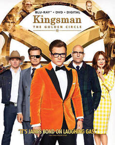 Kingsman: The Golden Circle (Blu-ray +DVD +Digital; 2017) W/ Slipcover New