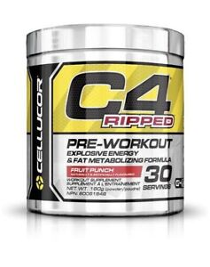 Pre-workout C4 Ripped