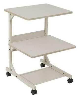 Balt 23701 Dual Laser Printer Stand, Gray