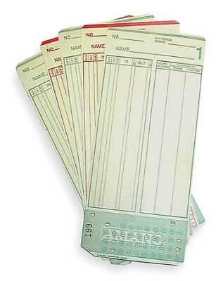 Amano Ama099000 Time Card7 14x3 14inpk1000