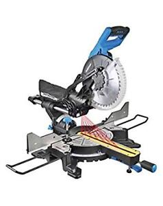 Mastercraft Dual-Bevel Sliding Mitre Saw, 10-in AND Stand