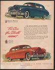 Blue Kaiser-Frazer Auto Advertising