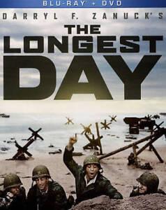 The Longest Day Blu-Ray + DVD NEW Sean Connery Richard Burto