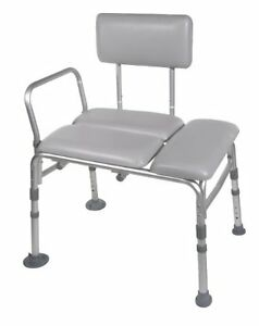 NEW padded Bath Transfer bench seat 12005KD-2 holds 350 lbs