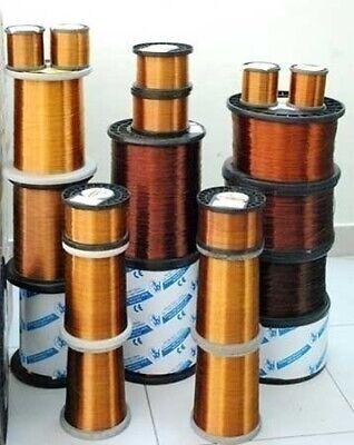 1 Mm 18 Awg Gauge 130 Gr 18 M 4.5 Oz Magnet Wire Enameled Copper Coil