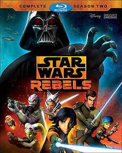 Star Wars Rebels: The Complete Season 2 (Blu-ray Disc 2016 3-Disc Set) FREE Ship