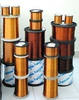 1 Mm 18 Awg Gauge 310 Gr 42 M 0.7 Lb Magnet Wire Enameled Copper Coil