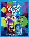Inside Out (Blu-ray/DVD, 2015, 3-Disc Set, Incl...