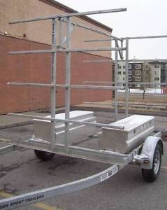 8 Place Canoe/16 Kayak Trailer with OPTIONAL storage boxes Yellowknife Northwest Territories image 2