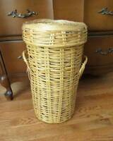 "Wool / Crafting Storage Basket with Lid - 20"" x 11"" City of Montréal Greater Montréal Preview"