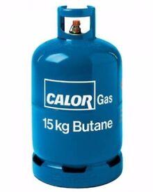 CALOR GAS BOTTLE 15KG EMPTY £10 IN KETTERING
