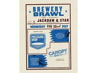 BREWERY BRAWL LONDON AT JACKDAW AND STAR