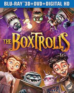 The Boxtrolls Blu-ray  - $4.41