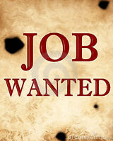 Looking for part time work - Additional information provided.