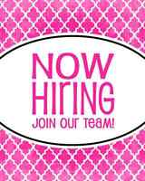 Cleaning company now hiring !!!