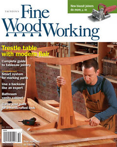 Fine Woodworking Magazine, issues 62 through 243