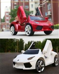 Lamborghini Kids Ride On Toy Car | Remote Control | 6V Battery, MP3 Player, & Leather Seat  | Free Shipping & Pick up