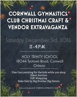 Christmas Craft & Vendor Extravaganza (cornwall ontario)