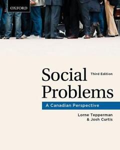 Social Problems - A Canadian Perspective (third edition)
