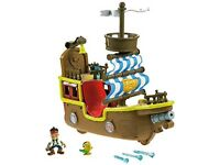 Fisher Price Jake and the Neverland Pirates Bucky toy