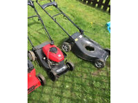 2x lawnmowers for spares