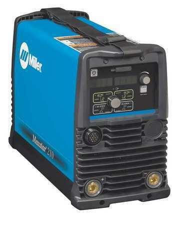 MILLER ELECTRIC 907682 TIG Welder, Maxstar 210 Series, 120 to 480VAC