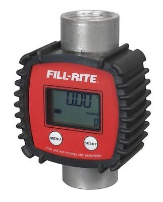 Fill-rite Fr1118a10 In-line Turbine Meter3 To 26gpm1in Npt