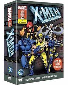 X-Men Ultimate collection animated cartoon box set