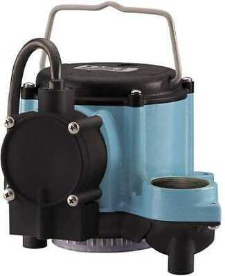 "LITTLE GIANT 6-CIA-ML 1/3 HP 1-1/2"" F Submersible Sump Pump"