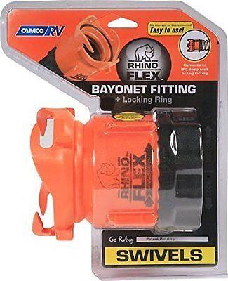 Camco 39783 RhinoFLEX Swivel Bayonet Fitting