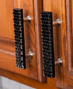 Texture - Knob / Pull - For drawers, cabinets, vanities, ornamental chests or any type of furniture - 4 Styles - 7 Color