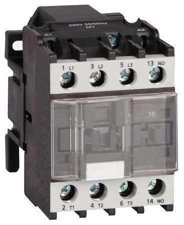 Dayton 6Eav7 Iec Magnetic Contactor, 3 Poles, 240V Ac, 18 A, Reversing: No