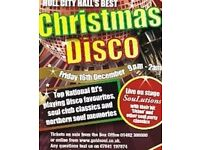 Hull City Hall Disco Party Night on December 16, 2016