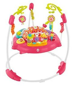 Fisher Price Pink Petal Jumperoo bébé fille/ jeu sauteur