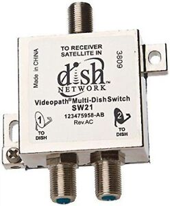 SW21 Multi Dish Switch - DishNetwork Bell Expressvu