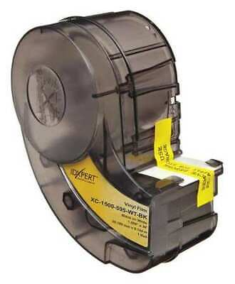 Brady Xc-1500-595-wt-bk 1-12 X 30 Ft. Blackwhite Adhesive Label Tape