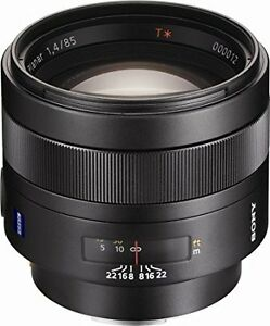 Sony Lens Planar T*85 mm F1.4 ZA The finest choice for portraits