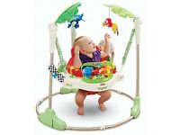 Fisher Price Roarin' Rainforest Jumper Baby Bouncer