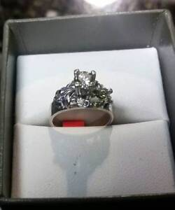 Diamond Ring White Gold $2000 at Great Pacific Pawnbrokers