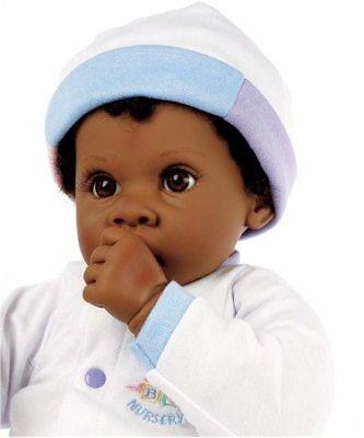 Angel Love - Brown/Brown - LM1383 - Newborn Nursery by Middleton Doll ()