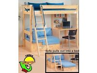 Thuka high rise bed