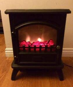 Electric Fireplace - Little Stove Style - $45